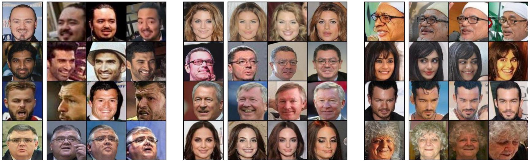 AI fake-face generators can be rewound to reveal the real faces they trained on